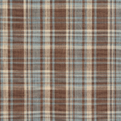 D104 Cornflower Plaid