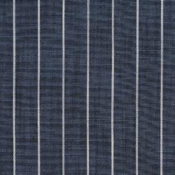 R203 Indigo Pinstripe