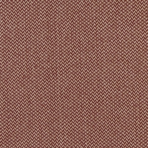 D1217 Burgundy Herringbone