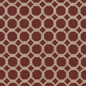 D1226 Burgundy Honeycomb